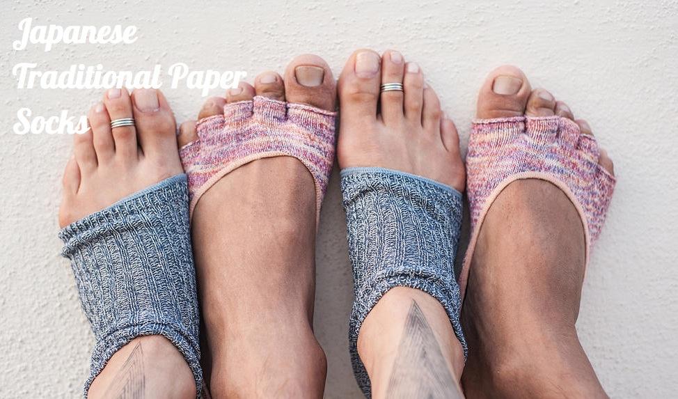 Coolな日本和紙靴下 Yagi